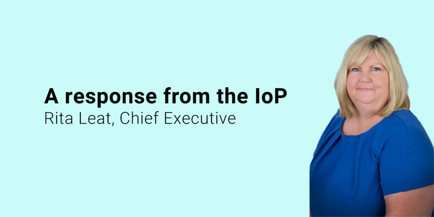 A response from the IOP