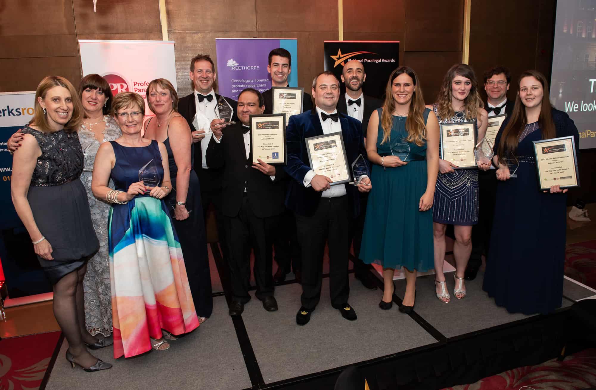 paralegal awards