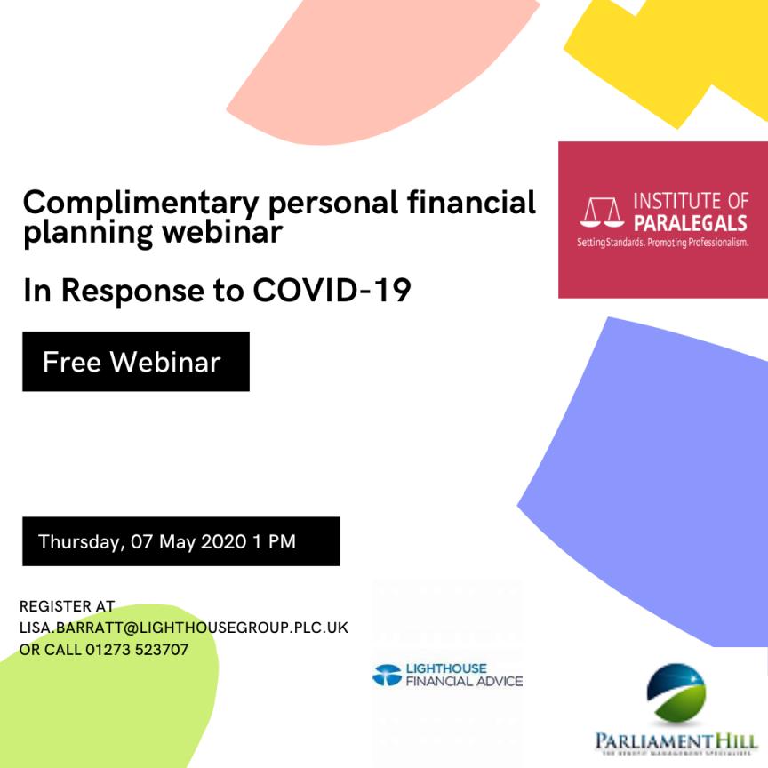 financial planning webinars