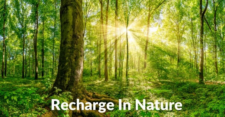 spending time outdoors reduces stress levels